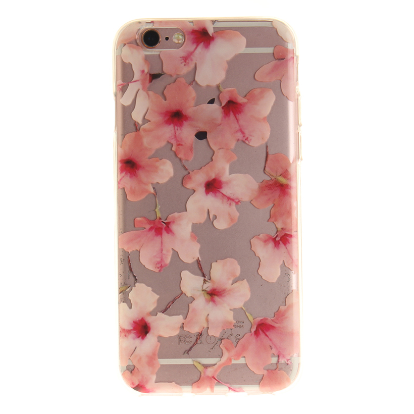 AKABEILA Phone Cases For Apple iPhone 6S 6G iphone6 S 4.7 inch Covers Bag Shield Flower Love Girl Sheaths Skin Housing IMD