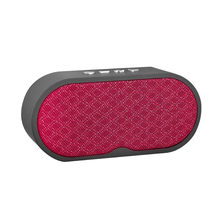 Portable Bluetooth Speaker Portable Wireless Player Linen Design Subwoofer Loudspeakers Audio For Phone With Mic Tf Usb цена 2017