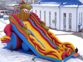 (China Guangzhou) manufacturers selling inflatable slides, inflatable castles, COB-121