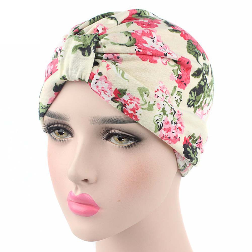 034b9e36734cd winter hat Small Floral Printing India Cancer Chemo Hat Beanie Scarf Turban  Head Wrap Cap hats for women-in Skullies   Beanies from Apparel Accessories  on ...