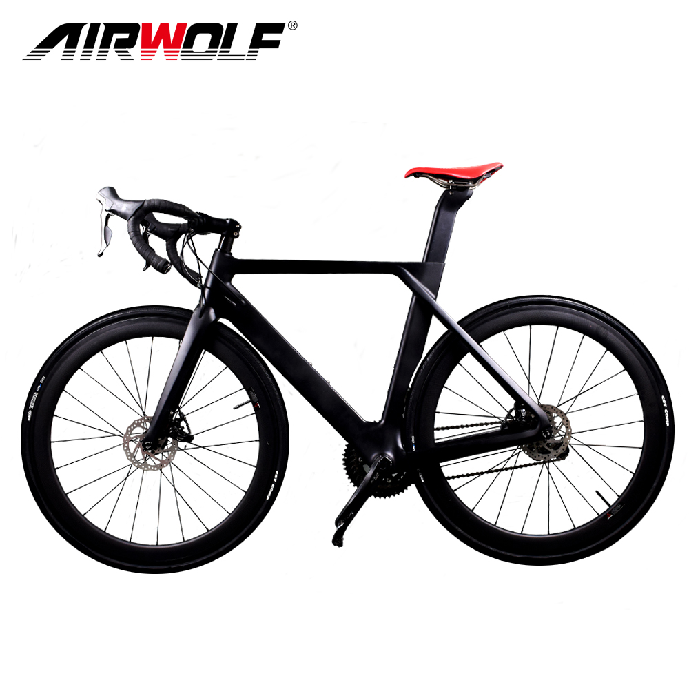 New arrival road carbon frame with rotor disk 140 160mm carbon road disc frame fit for