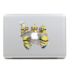 Removable waterproof DIY happy dessert for Minions tablet sticker and laptop computer sticker for laptop,170*270mm
