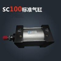 SC100 * 400 S Бесплатная доставка Стандартный Воздушные цилиндры клапан 100 мм диаметр 400 мм ход одного стержня пневматический цилиндр двойного де