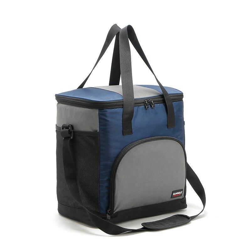 43L 600D oxford grande glacière thermo boîte à lunch isolé cool sac à dos pack de glace frais transporteur thermique sacs à bandoulière