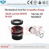 Grundfos 96658815 BAQV seal kit 60mm as voor mechanische seal pomp Grundfos NB  NK  TP serie
