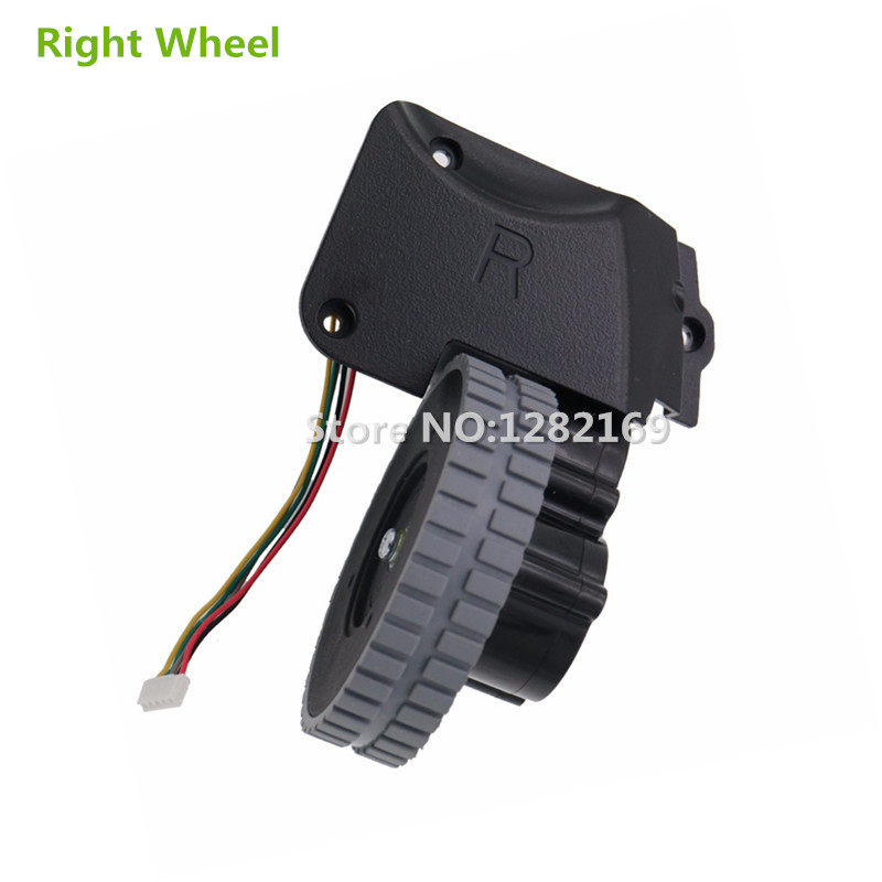1 piece Original Right Wheel with Motor for Robot Vacuum Cleaner Ilife a4s a4 robotic Vacuum Cleaner Parts ilife a4
