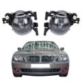 Para BMW Série 7 E65 E66 745 750 760 Facelift 2005-2008 Amortecedor Dianteiro Fog Driving Lâmpada Luz de Neblina Lente Clara # W082