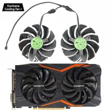 88MM PLD09210S12HH T129215SU 4Pin Cooler Fan For Gigabyte GeForce GTX1060 GTX1070 GTX1050 GTX960 RX570 RX580 RX470 Graphics Card new 75mm t128010su cooler fan gigabyte aorus geforce gtx1070 1080ti g1 gtx1660 ti card cooler fans