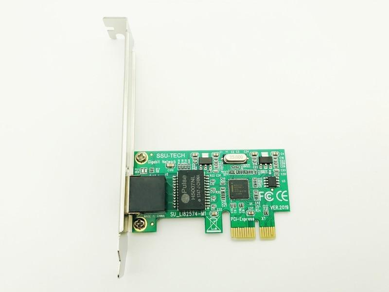 H1111Z PCI-E Network Cards Gigabit Ethernet Adapter LAN Card RJ-45 Network Adapter Enternet for INTEL 82574L/9301CT for ESXI PXE 3