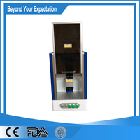Pulsed portable mini fiber laser marking machine For Lamps