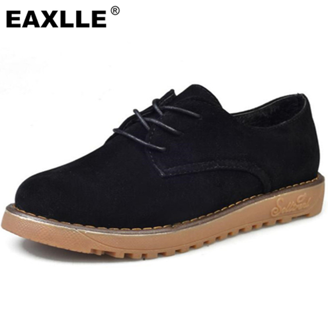 2017 New Design Fashion Cross Tied Lace Up Flat Heel 2.5CM Suede With High Quality Oxfords TR Outsole Women Casual Shoes