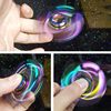 Rainbow Brass Hand Spinner Metal EDC Fidget Toy Sensory Fidget Spinners For Autism And ADHD Kids