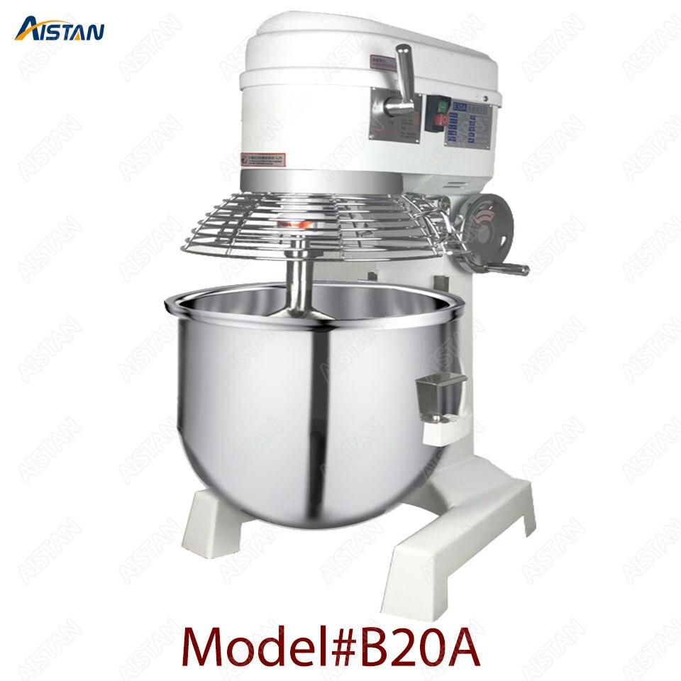 B20A/B30A commerciale elettrico 20L/30L cibo mixer planetario mixer impastatrice macchina per pasta impastare/uovo battere/cibo miscelazione