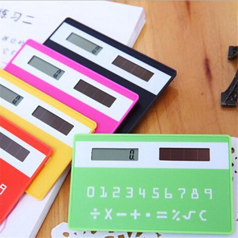 MINI Calculator Pocket Calculator Solar Calculators Handheld Silicone Scientific Multifunction for school office buniness home
