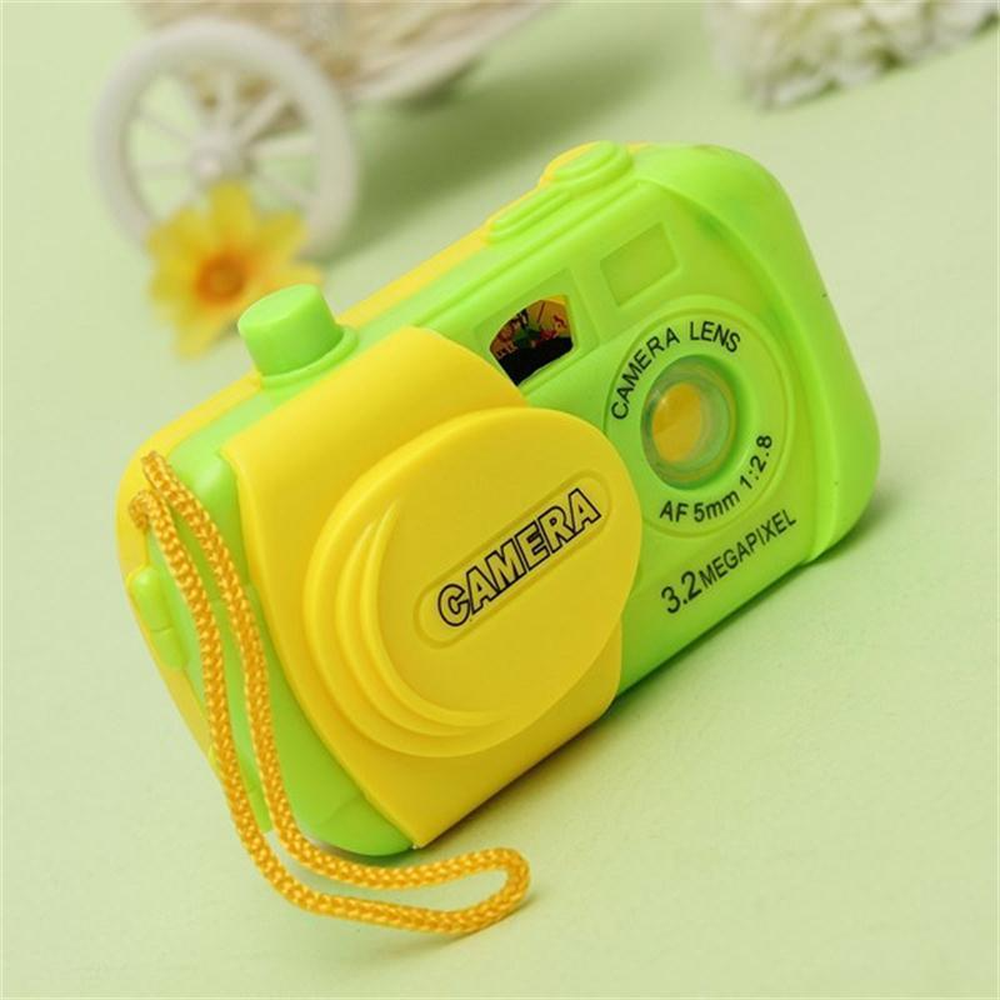 Plastic Cute Mini Camera Toys Creative Kids Projection Simulation Camera Intellectual Toys Children Learning Toy For Children