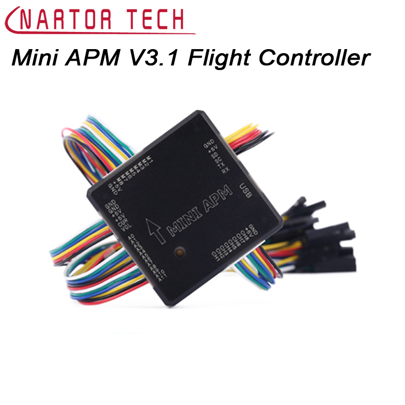 Mini APM V3.1 Mini 2.6 External Compass APM Flight Controller Power Module for Multicopter FPV f14586 b apm 2 8 apm2 8 rc multicopter flight controller board compass