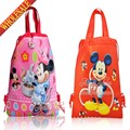 20pcs Hot Cartoon Drawstring Backpack Bags 34*27CM School Furniture Non-Woven Fabric Kids Party & Candy Bags as Gift