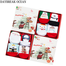 New Year Christmas Gift Set 1-8Y Thicken Cotton Warm Socks For Toddler Baby Winter Kids Infant Boys Girls Children's Socks
