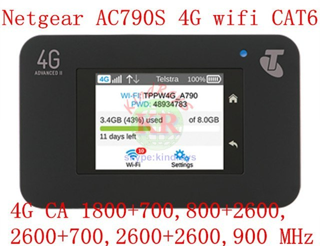 Cat6 300 мбит разблокирована netger AC790S Aircard 790 s 4 г wi-fi маршрутизатор 4 г беспроводной адаптер 4 Г LTE карманный мифи pk ac970 e5786 ac782 e5186