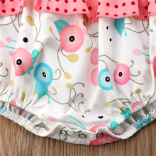 Baby Girl and Big Sister Flower Romper Dress Outfits