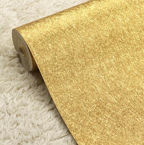 Moderne luxe or argent papier peint feuille d'or papier peint rouleau salon chambre fond papier peint pvc étanche réfléchissant - 2