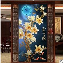 5d алмазная живопись «сделай сам» вышивка крестиком цветок магнолии