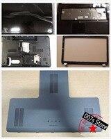 Cover For HP Pavilion DV7 DV7 6000 DV7 6XXXX 17.3 LCD Back/Front Bezel/Palmrest/Bottom Base/HDD Hard Drive Case 665978 001