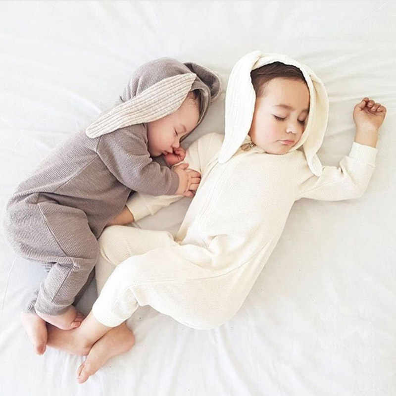 Baby Rompers Autumn Baby Clothing Sets Roupas Bebes Rabbit Newborn Baby Clothes Cute Baby Jumpsuits Infant Girls Clothing