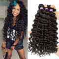 Deep Wave Brazilian Hair Bundles 3Pcs Brazilian Deep Wave Curly Weave Human Hair Brazilian Virgin Hair Rosa Queen Hair Products