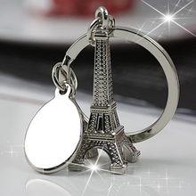 Mooie Mini Eiffeltoren Model Sleutelhanger Sleutelhanger Keyfob Sleutelhanger Kerstpakketten Op Auto