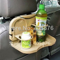 Coche Asiento Multi Bandeja del Alimento del montaje de la comida tabla Desk Stand Drink Holder Copa car asiento trasero del soporte, estantes de almacenamiento