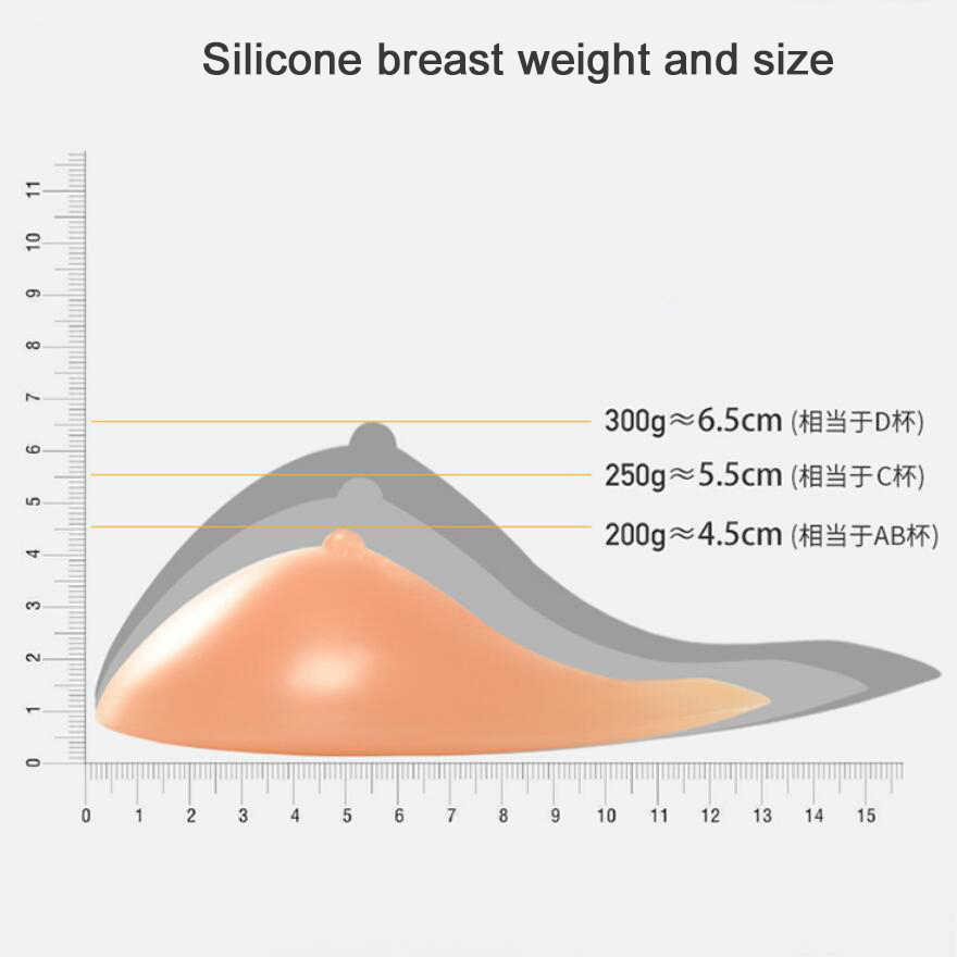 Sujetador de mama de silicona, sujetador de mastectomía púrpura con bolsillo y forma de espiral Artificial, Prótesis de mama falsa para mujeres, cáncer D30