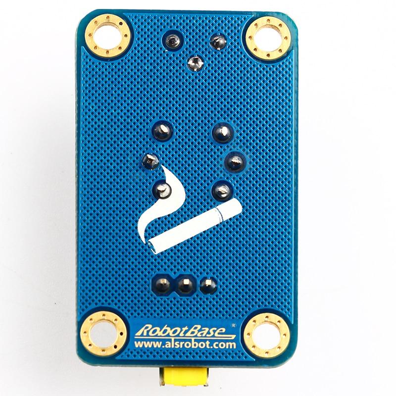 MQ-2 Arduino gas sensor smoke methane detection analog sensor