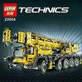 LEPIN 20004 2606 Pcs Técnica Potência Do Motor Do Guindaste Móvel Mk II Modelo Kits de Construção Blocos Tijolos de Brinquedo de Presente de Natal 42009