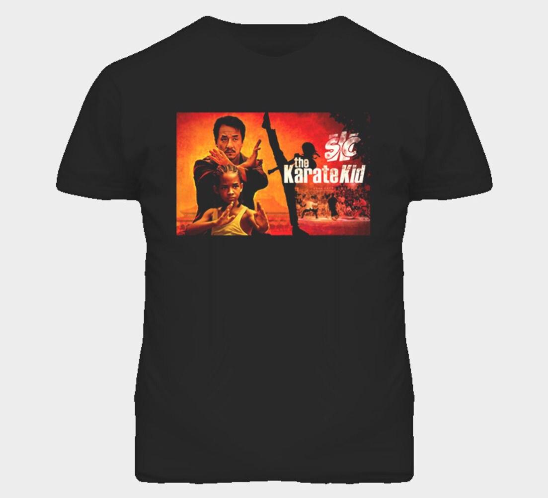 Каратэ малыш фильм футболка Для мужчин Футболки для девочек брендовая одежда забавные Для мужчин хлопковая Футболка Топ с принтом Футболка...