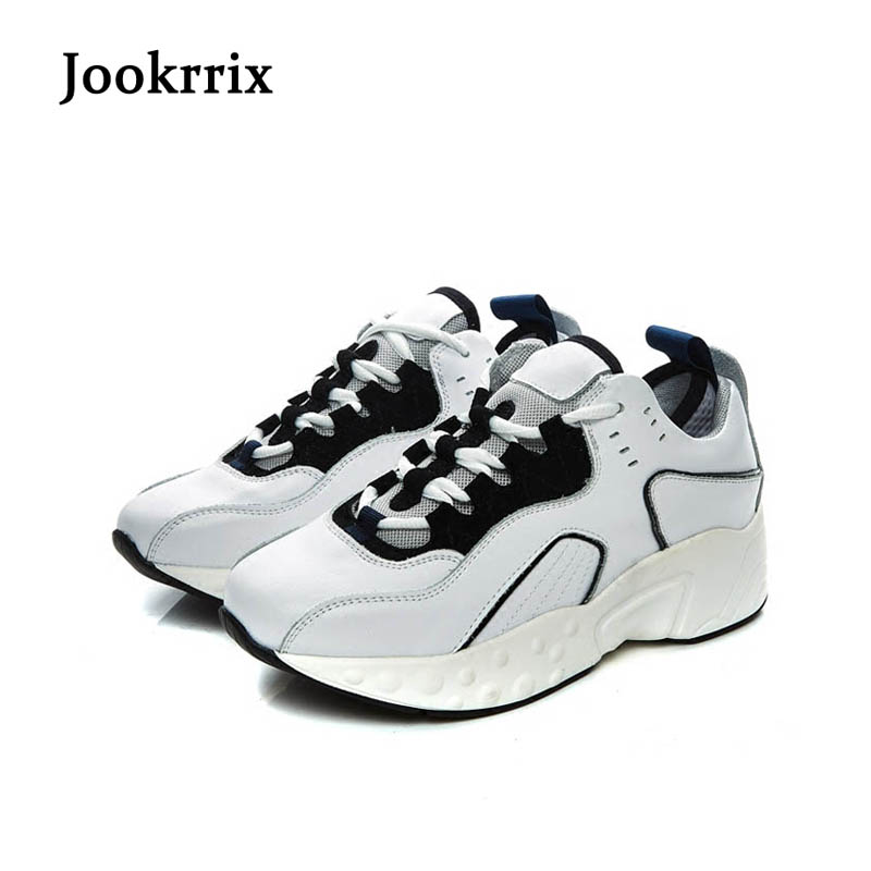Jookrrix New Spring Fashion Lady Casual White Shoes Women Sneaker Black Leisure Shoes Pink Flats Cross-tied Lace Up Black Soft