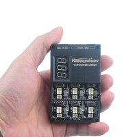 6 em 1 3.7 v 3.8 v 1 s lipo lihv carregador de bateria placa para minúsculo 6 7 qx65 mobula7 mobula 6 mini rc quadcopter fpv racer zangão bwhoop