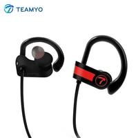 Teamyo Wireless Bluetooth Earphone Sports Headphones Neckband Headset IPX7 Sweatproof Earbuds With Mic For Phone IPhone