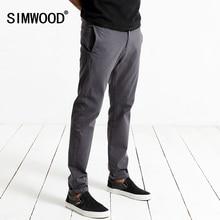 Siwwood осень 2017 г. повседневные штаны Для мужчин мода Slim Fit Мотобрюки Молния Fly высокое качество мальчиков брендовая одежда KX5537