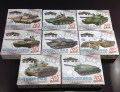 C8705 4D Model Kit Battle Tank 1:72 Scale Railway Layout HO OO BOX SET NEW