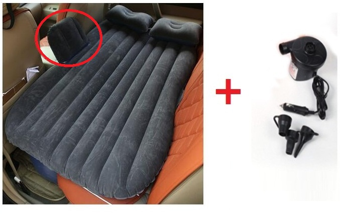 2015 nuevo colchón inflable cama de coche + bomba de aire coche cama - Accesorios de interior de coche - foto 3