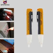 Розетка настенная AC Розетка тестер датчика детектора напряжения Электрический Тест Ручка светодиодный светильник индикатор напряжения 90-1000 В переменного тока
