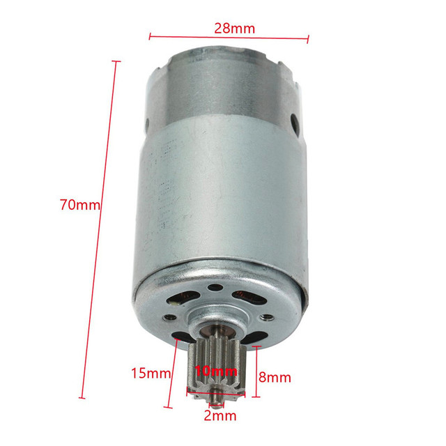 1pc 6v Dc Motor 18000 Rpm For Children Electric Vehicles Motors Commonly Automobile Remote Control