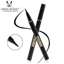 Brand MISS ROSE Black Waterproof Eyeliner Pencil Long-lasting Eye Pen Precision Liquid Liner Smooth Make Up Tools