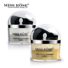 Miss Rose Brand 2 in 1 Highlighter Eye Loose Powder Glitter Makeup Contour Palette Make Up Face Powder Glitter Gold Eyeshadow