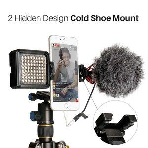 Image 2 - Ulanzi ST 05 Foldable Mini Phone Tripod Mount Adapter Vertical 360 Rotation Tripod Stand for iPhone X 8 7 Samsung S8 7 Redmi