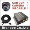 Free shipping CAR DVR system, including dvr, car camera, video cables, auto recording model BD-300B from Brandoo