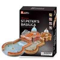 3D Puzzle Di Modello di Carta Giocattoli Classici di Carta FAI DA TE Cattedrale Dell'assunzione Edificio Modello Di Puzzle per Bambini e adulti