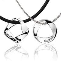 100% 925 sterling silver collane per uomini e donne paio di modelli ciondolo gioielli in argento D10062