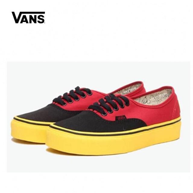 b78f7917b98 Original New Arrival Vans Men s   Women s Classic Old Skool Low-top  Skateboarding Shoes Sneakers